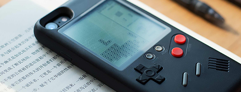 Чехол с тетрис игрой для iphone купить на tetris-case.ru