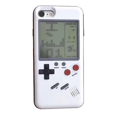 Чехол с тетрисом для iPhone белый (White)